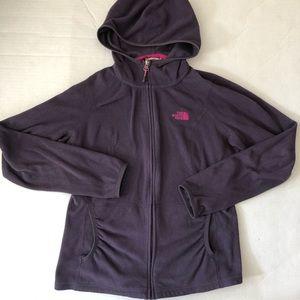 North Face purple fleece